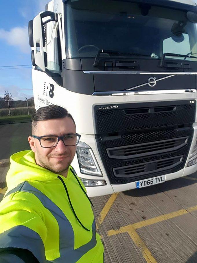 camionagiu în Marea Britanie