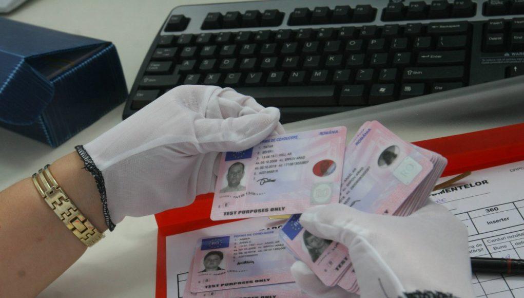 obținerea permisului de conducere