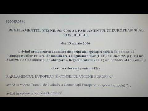 Regulamentul (CE) Nr 561/2006