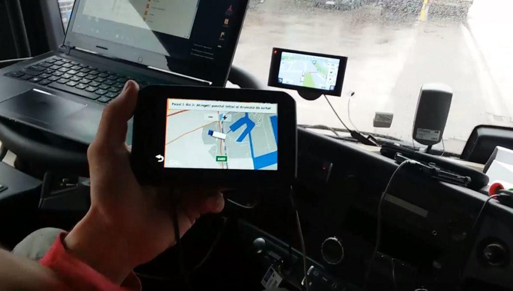 GPS de camioane
