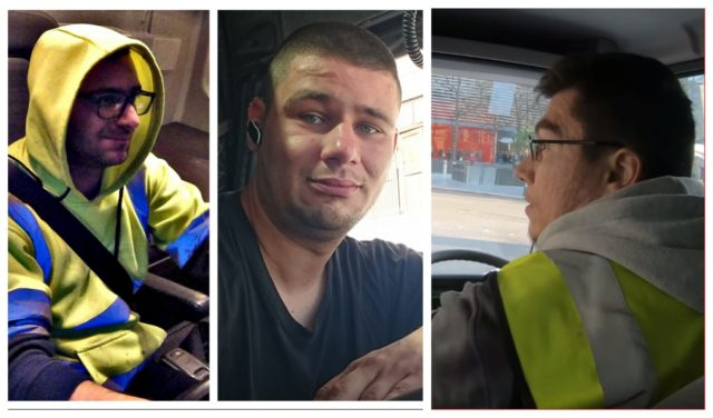 șofer profesionist în UK