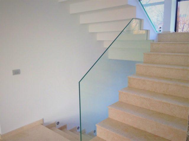 balustrade din sticlă securizată